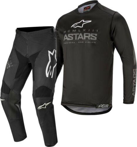 2020 Alpinestars Racer GRAPHITE Black Grey Kids Youth Motocross Gear