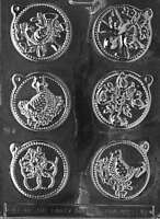 12 Days Of Christmas Day 1-6 Chocolate & Soap Mold - C048
