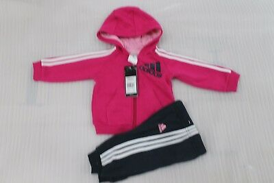Baby Girls Tracksuit Set Zip Jacket /& Trousers//Joggers Outfit *3-6//6-9//9-12 m