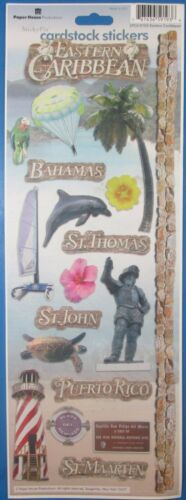 Paper House Productions Eastern Caribbean Sticker Sheet