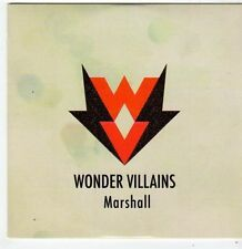 (FI115) Wonder Villains, Marshall - 2014 DJ CD