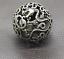 thumbnail 1 - Old Chinese Tibetan silver Dragons and phoenixes Handball Round ball