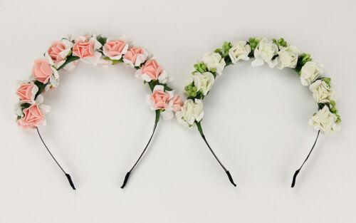 Mariée bijoux de cheveux haarblume Roses Fleur Bijoux Diadèmes Mariage Mariée Bijoux
