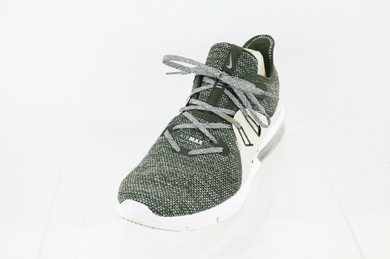 aac92bf5fb Nike Air Max Sequent 3 Womens 908993-300 Sequoia Knit Running Shoes ...