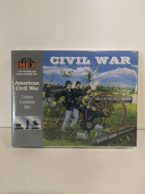 IMEX American Civil War Union Cannon Set #770 1/32 Sealed Box