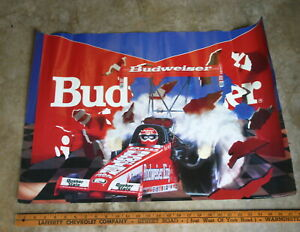 BUDWEISER-KING-DRAG-RACING-POSTER-LARGE-POSTER-22-X-28-COLOR