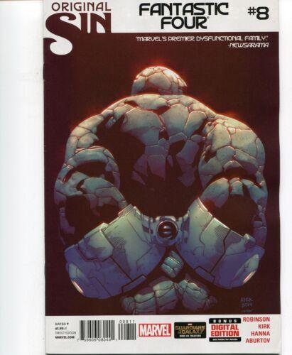 JAMES ROBINSON SCRIPTS 2014 LEONARD KIRK ART /& COVER FANTASTIC FOUR #8