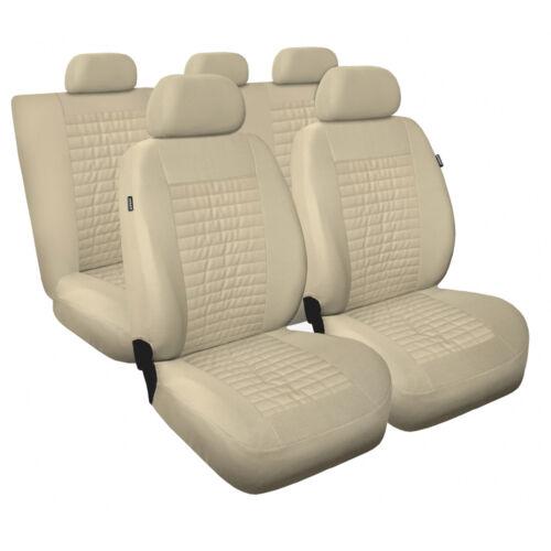 Universal Autositzbezüge für Toyota Rav4 Beige Sitzbezug Autositz Schonbezüge