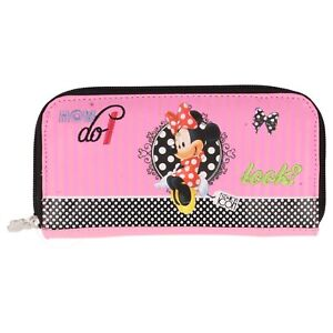 Delightful-Minnie-Mouse-Pink-Purse-034-How-do-I-look-034-design-NEW