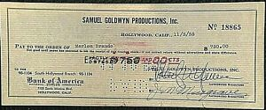 MARLON-BRANDO-RARE-ORIG-1955-PAYROLL-CHECK-FROM-SAMUEL-GOLDWYN-PRODUCTIONS