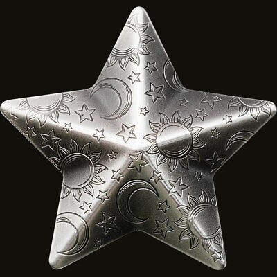 2018 Palau 1 oz Silver Antique Finish Silver Twinkling Star SKU#177511