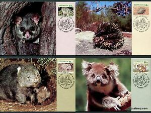 1992-Native-Wildlife-Maxi-Cards-Prepaid-Postcard-Maxicards-Stamps-Postcrossing