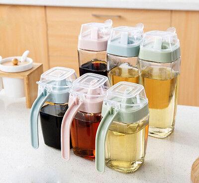 1Pc Glass Prevent Oil Spill Oil Vinegar Bottle Oil Pot Sauce Pot  Kitchen Tool