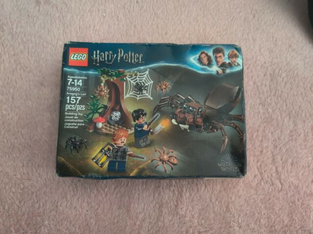 Lego Harry Potter Wizarding World Aragogs Lair 75950 Spider 157 Pieces NEW