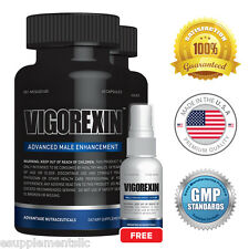 Vigorexin (2 pack) & FREE Serum - #1 Male Enhancer - Improves Sexual Performance