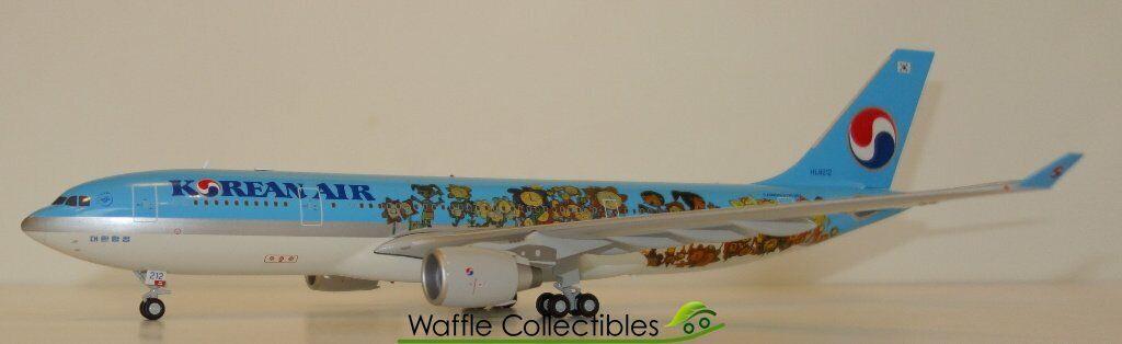 1 200 JC Wings Korean Air A330-200 HL8212 75425 LH2085 Airplane Model
