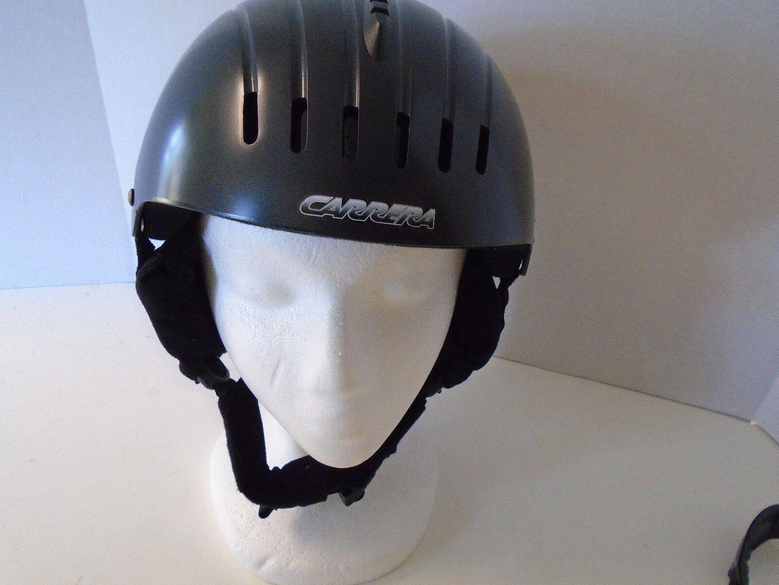 Carrera Outlast Ski Helmet M Medium Dark grau Grau Temperature Regulation