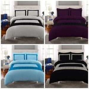 Lujo-Calidad-Premium-Wasi-duvet-cover-set-ropa-de-Cama-Edredon-Doble-Super-King-Size