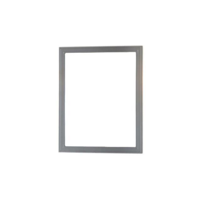 Home Decorators Cranbury 30 In L X 24 W Framed Single Wall Mirror Cool Gray