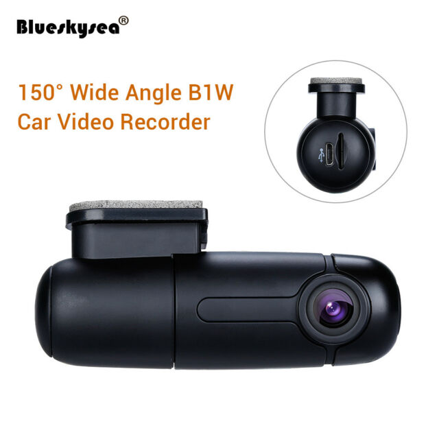 Blueskysea B1W 1080P Mini WiFi App Dash Camera Car DVR Dash Cam Parking mode HD