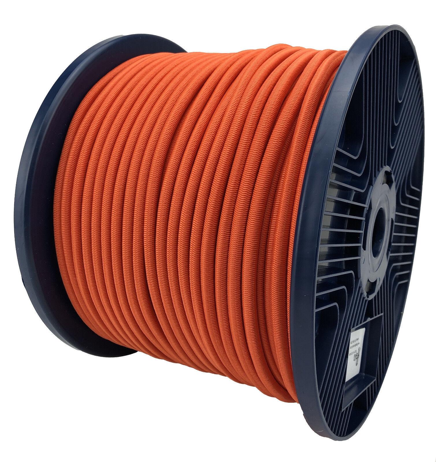 6mm Orange Elastischer Gummizug Seil X 75 75 75 Meter Krawatte Unten 6f62e3