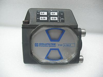 BOLL BOLLFILTER 4.36.2 DIFFERENTIAL PRESSURE INDICATOR