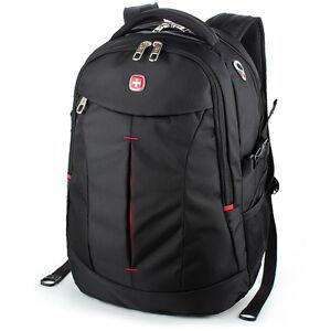 """Swiss Gear Men s 15.6"""" Business Travel Laptop Backpack School ... 8027ef422ad19"""
