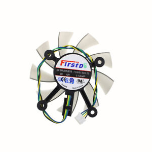 FD8015U12S-75MM-For-ASUS-GTX560-GTX550Ti-HD7850-Graphics-Video-Card-Coling-Fan