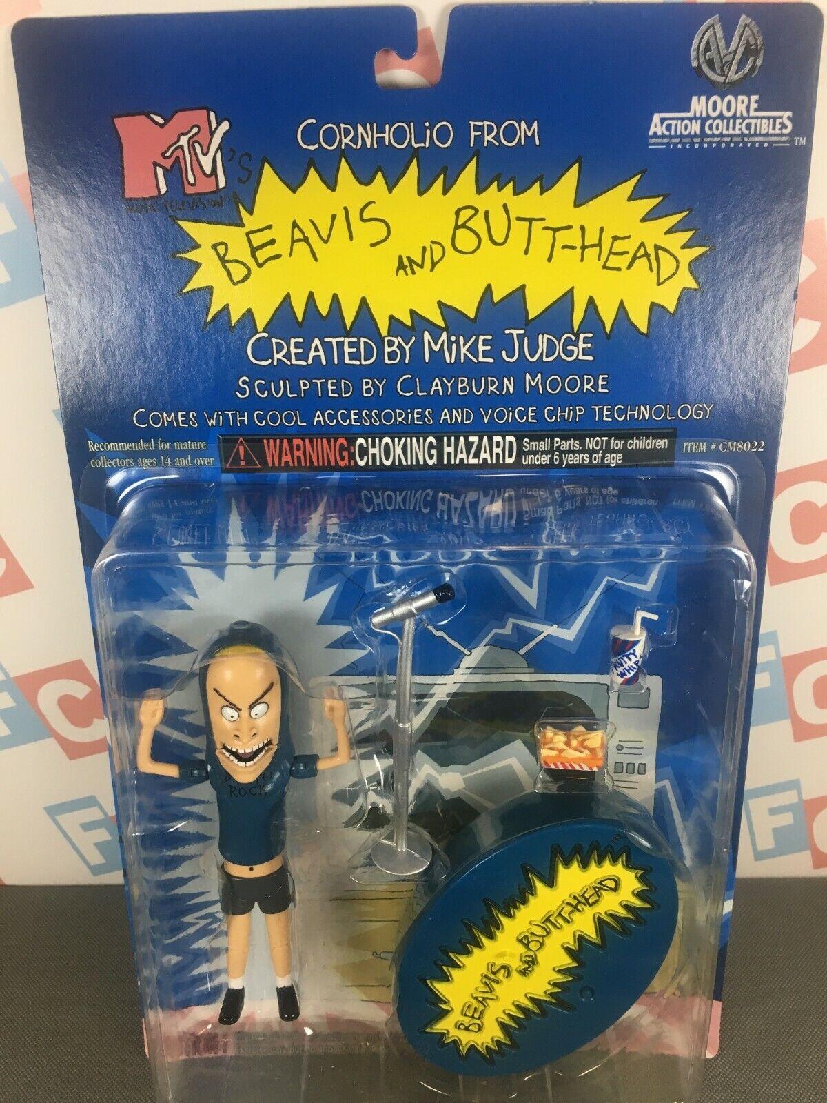 Moore azione Collectibles 1999 Beavis & Butthead cifras Series  Cornholio cifra  prezzo all'ingrosso e qualità affidabile