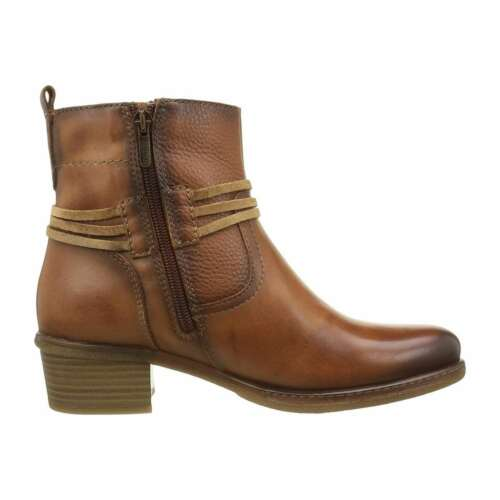 NEW Pikolinos Women's Casual Shoes Leather Zaragoza Ankle Booties 1.5/'/' Heel