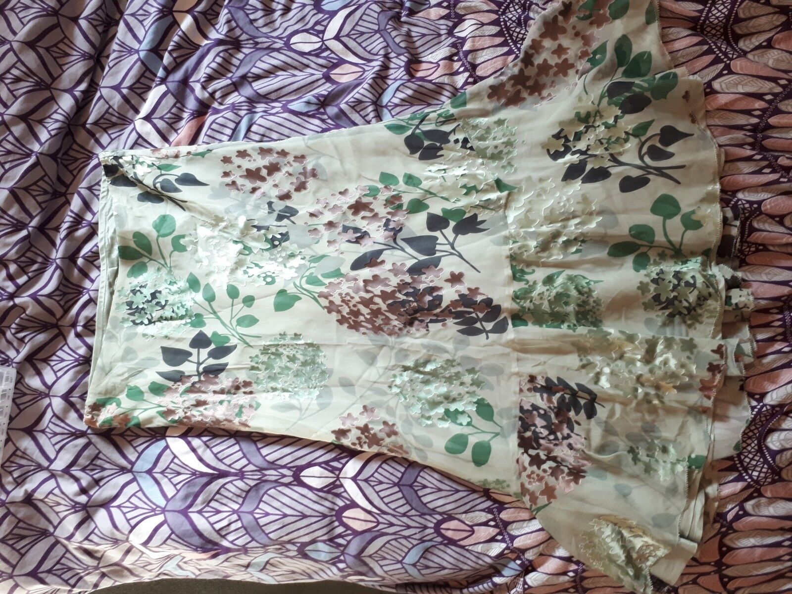 Phase Eight Skirt Size 12 Silk
