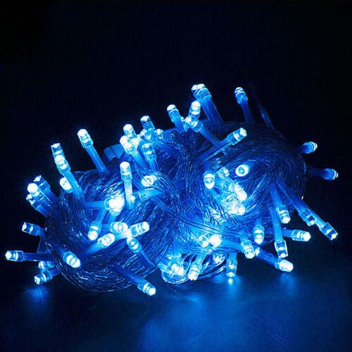 Cadena De Hadas LED Luz Lámpara 5M 50 LED Navidad Boda Navidad Fiesta Decoración Al Aire Libre