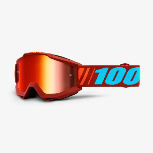 100/% Accuri Adult Goggles MX Off-Road Dirt Bike Riding MOTOCROSS GOGGLES
