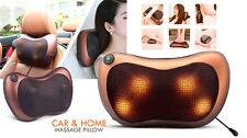 Car Home Electronic Massage Pillow Massager Relax Neck Back Shoulder