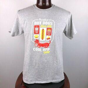 Portillo's Hot Dog App Mens L Graphic T Shirt