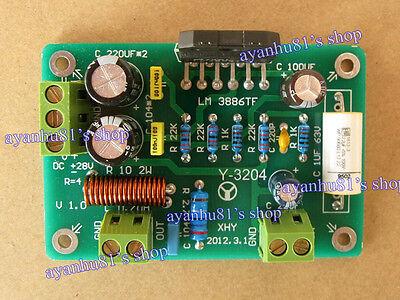 HiFi LM3886 TF Mono Audio Power Amplifier Board AMP 68W 4Ω 50W/38W 8Ω Assembled