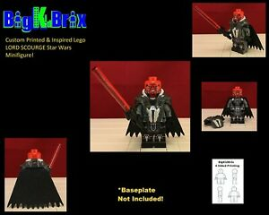 LORD-SCOURGE-Custom-Printed-amp-Inspired-Lego-Star-Wars-Minifigure
