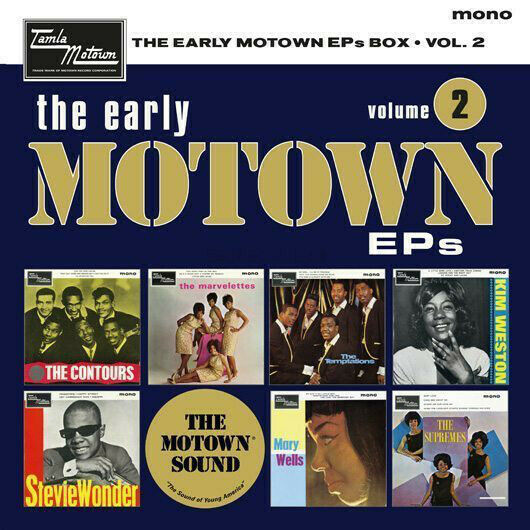 "Various ‎– The Early Motown EPs Box Volume 2 7x 7"" Vinyl NEW!"
