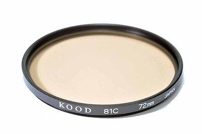 Kood 81A filtro fabricado en Japón 72mm