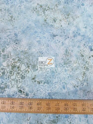 PLANET MARS SURFACE BLUE BY ANTHOLOGY FABRICS BATIK COTTON FABRIC BTY 13013