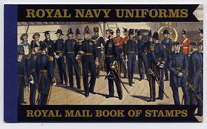 GB 2009 ROYAL NAVY UNIFORMS PRESTIGE BOOKLET SG.No.DX47