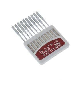 Nähmaschinenna<wbr/>deln Rundkolben Nadeln für Overlock-Nähma<wbr/>schinen B27 oder DCx27