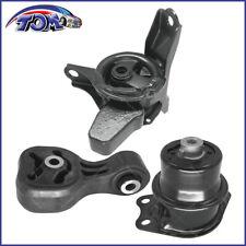 New Engine Motor Amp Transmission Mount Set 3pcs For 2009 2012 Honda Fit 15l