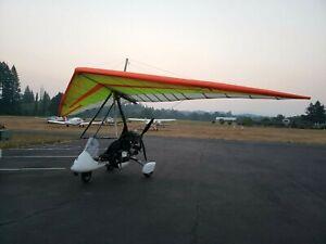 Details about 2007 Antares Ultralight Rotax 582 2-seats Weight Shift  Aircraft Trike Hangglider