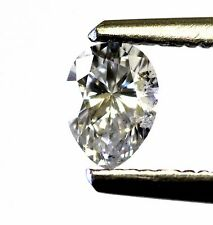 GIA certified loose pear diamond .41ct SI2 F vintage antique 5.82x4.27x2.81mm