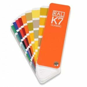 RAL K7 Classic guide - Shows all the RAL Classic colours. The latest version 4260298120033