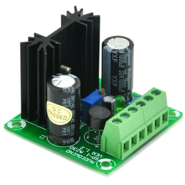 Voltage Regulator Kit, AC/DC in, DC out, Based on LM317