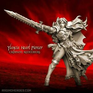 Details about Raging Heroes Ylancia Heart Piercer (Crimson Redeemers)  Female Sisters