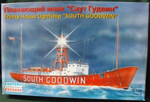 ARK MODELS 40010 Trinity House Lightship SOUTH GOODWIN Modellbausatz 1:110