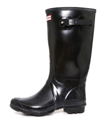Hunter Huntress Rain Boot Black Sz 8 Men 9 Women 1